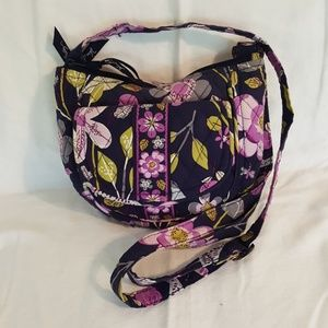 Vera Bradley Floral Nightingale Lizzy bag